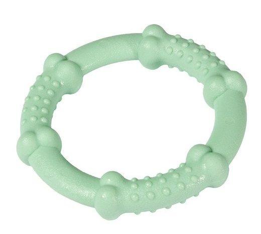 Karlie nylonový žvýkací kroužek máta, průměr 10 cm