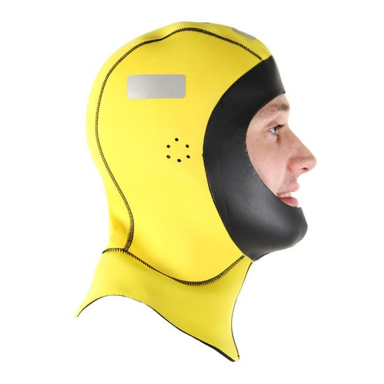 Northern Diver Kapucňa neoprénová 4 mm obojstranná žlto čierna