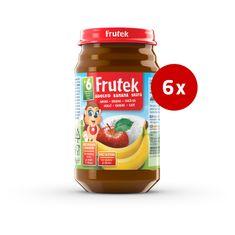 Fructal Frutek otroška kaša, skuta in jabolko, 6 x 190 g