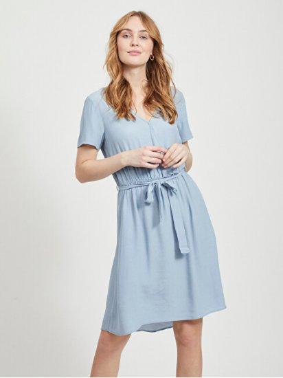 VILA Damska sukienka VIPRIMERA 14054673 AshleyBlue