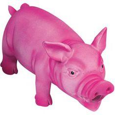 Karlie hračka latexová prase růžové 22 cm