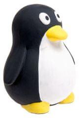 Karlie hračka pre psov tučniak latexová pískacia, čierno-biela 10x9 cm