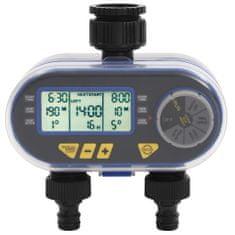 shumee Avtomatski digitalni časovnik za zalivanje z dvojnim odvodom