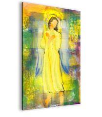 Abstraktní obraz sluneční anděl Velikost (šířka x výška): 100x150 cm