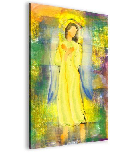 InSmile Abstraktní obraz sluneční anděl Velikost (šířka x výška): 100x150 cm