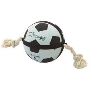 Karlie akční míč bílý/černý, 22 cm