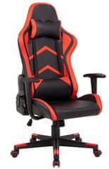 Hyle VRT.HC-G1248 pisarniški stol, rdeč/črn