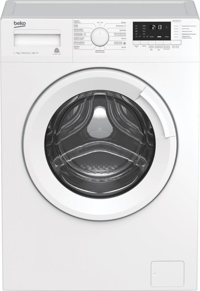 Beko pračka WUE7612CSX0 - zánovní