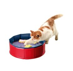 Karlie basen z trzema zabawkami dla kota, 30 cmx10 cm