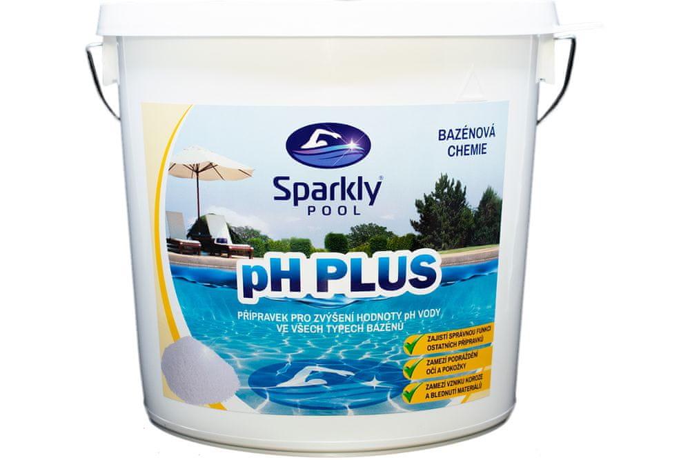 Sparkly POOL pH plus 5 kg