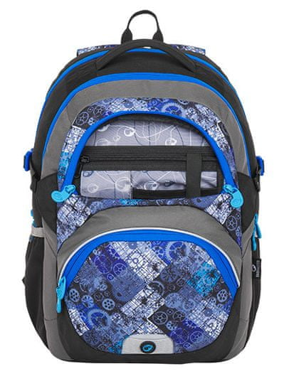 Bagmaster BAGMASTER THEORY 8 D BLACK/BLUE/GRAY
