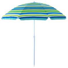 Cappa Garden Slunečník Stripe 200cm zelený