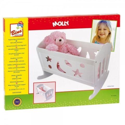 Bino Kolébka s peřinkami pro panenky