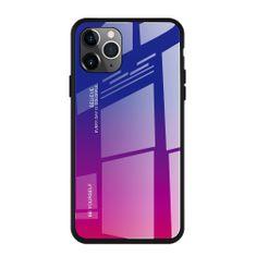 MG Gradient Glass plastika ovitek za iPhone 11 Pro, roza-vijolična
