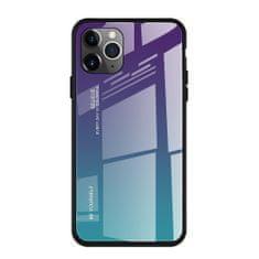 MG Gradient Glass plastika ovitek za iPhone 11 Pro, modra-vijolična