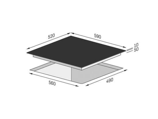 Concept sklokeramická deska SDV3760