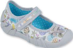 Befado 1109P196 Speedy dekliški čeveljčki, srebrni, 18
