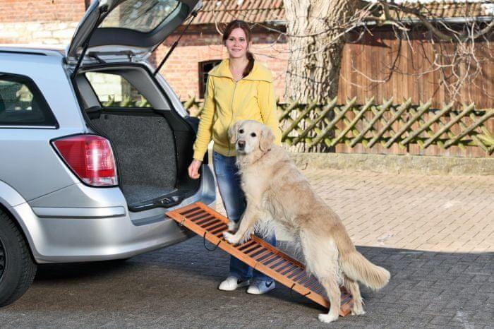 Karlie DOG ramp - skládací, rozměr 120x30x6 cm