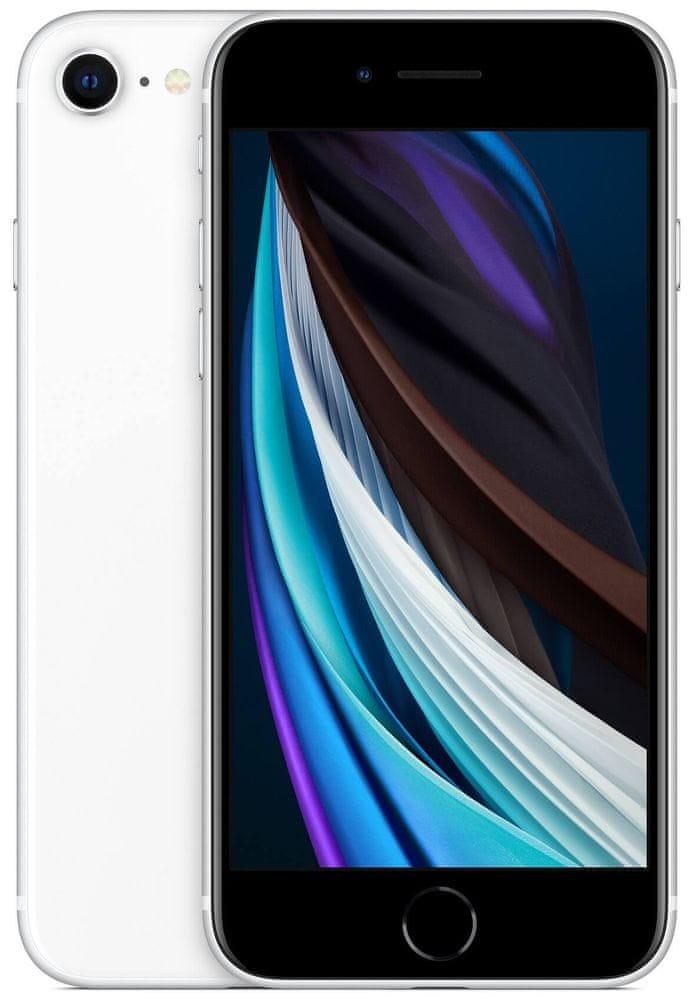 Apple iPhone SE 2020, 64GB, White - zánovní