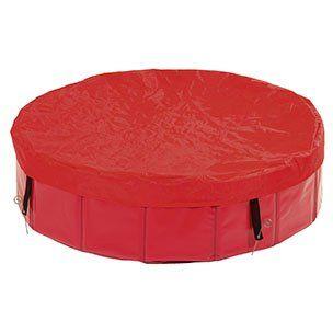 Karlie plachta na bazén červená, 80 cm