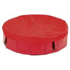 Karlie plachta na bazén červená, 80 cm - zánovné