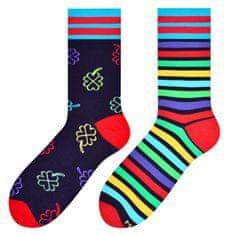 More Pánské vzorované ponožky 079 C.TURKUS/DOGS 39-42