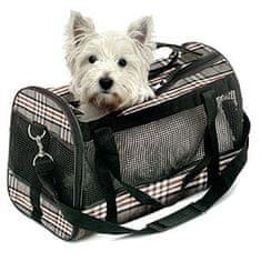Flamingo torba transportowa PICCAILLY dla psa 50x27x31 cm