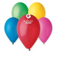 Gemar latexové balónky - mix barev - pastelové - 100 ks - 26 cm