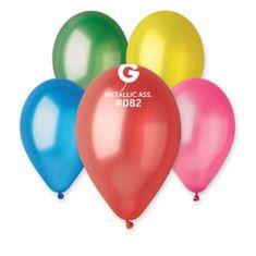 Gemar Latexové balónky - mix barev - metalické - 100 ks - 26 cm