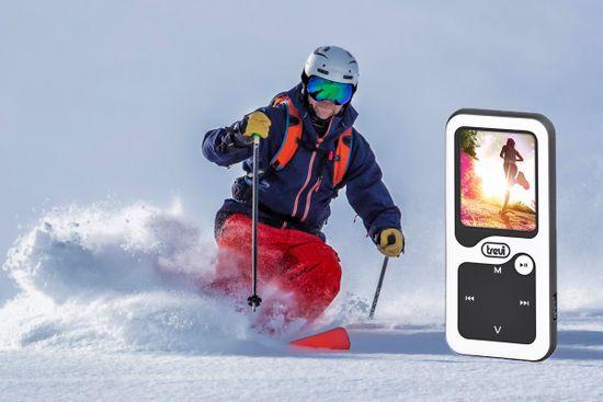 Trevi MPV 1780 SB MP3/video predvajalnik + 8 GB spominska kartica, Bluetooth, belo-črn - Odprta embalaža