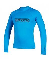 Mystic Star LS Lycra majica, plava, S