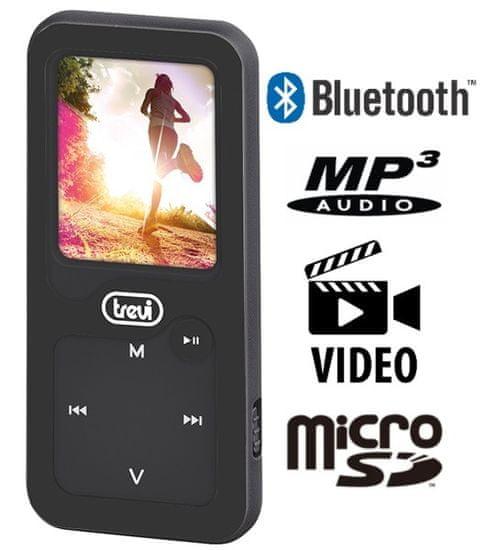 Trevi MPV 1780 SB MP3/video predvajalnik + 8 GB spominska kartica, Bluetooth