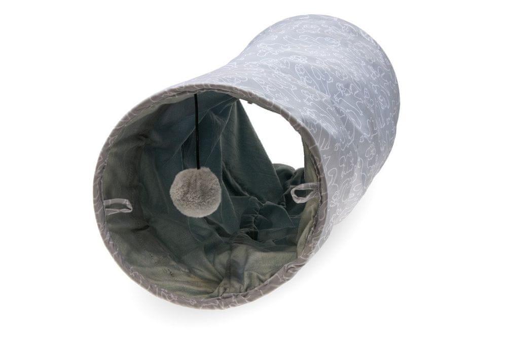 Karlie Simon's Cat hrací tunel pro kočky 75x25x25 cm