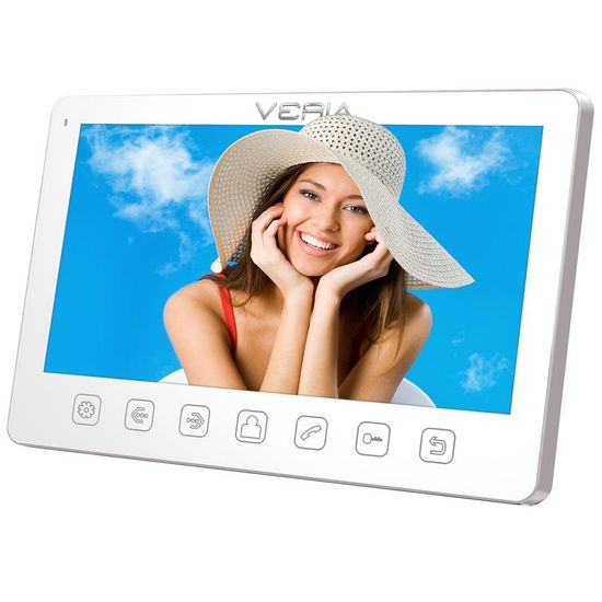 Veria LCD monitor videotelefonu VERIA 7070B bílý
