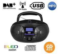 Trevi CMP 581 Boombox CD predvajalnik, črn