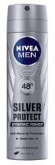 Nivea Men Silver Protect Dynamic Power deodorant v razpršilu, 150 ml