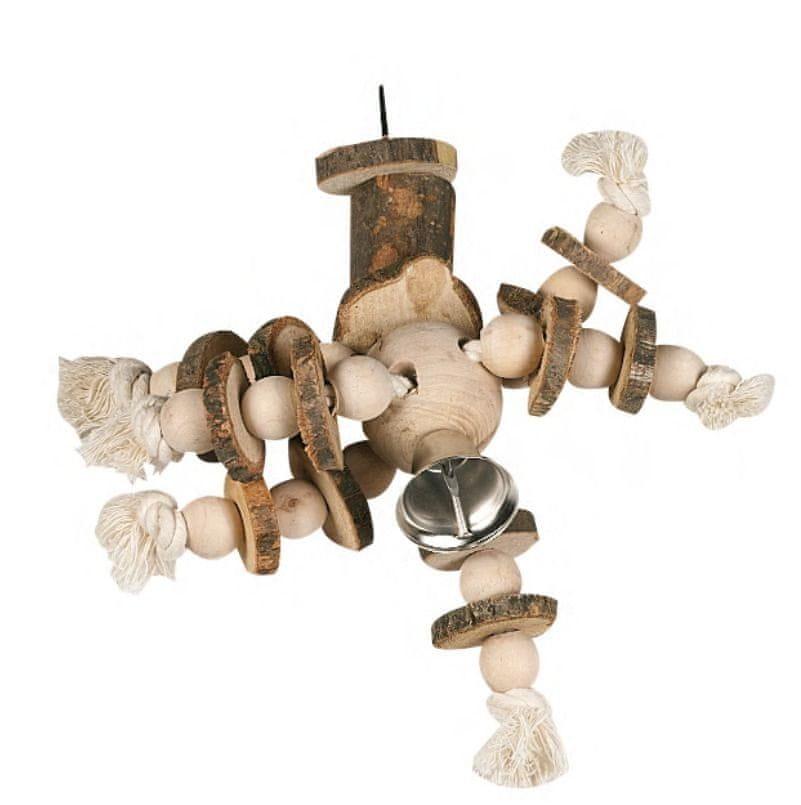 Karlie hračka pro ptáky závěsná 22x20 cm