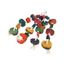 Karlie hračka pro ptáky věšák