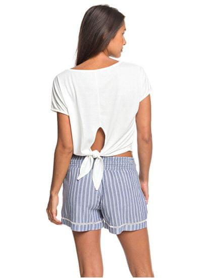 Roxy Ženske kratke hlače Bold Blooms True Navy Bird y Stripe s ERJNS03247-BPZ3