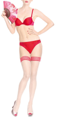 Marlies Dekkers Dámské tanga 16164 - Marlies Dekkers červená M