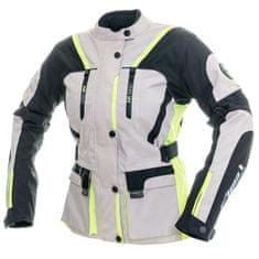 Cappa Racing Bunda moto dámská MELBOURNE textilní šedá/fluo/černá M