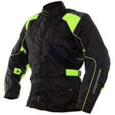 Cappa Racing Bunda moto UNISEX ROAD textilní černá/zelená M