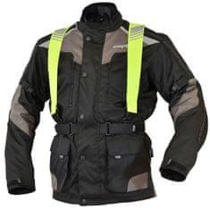 Cappa Racing Bunda moto pánska CORDURA textilná čierna / sivá XXXL