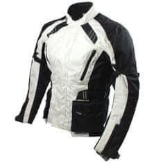 Cappa Racing Bunda moto UNISEX KISO textilná čierna / sivá XXXL