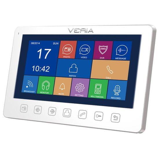 Veria LCD monitor videotelefonu VERIA 7076B bílý