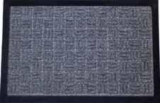 DURAmat Wycieraczka guma+PP BLOCK - popiel (60 x 90 cm)