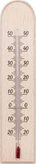 Bioterm Drewniany termometr wewnętrzny -20° do +50°