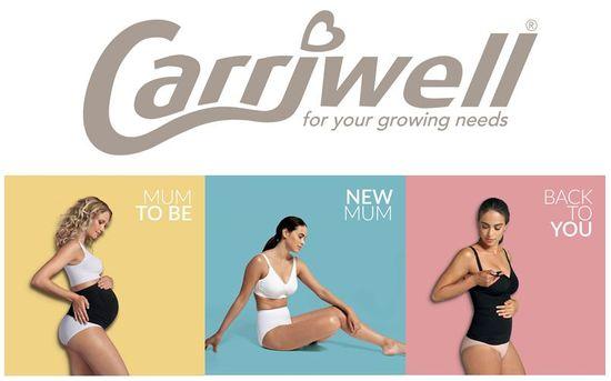 Carriwell Kojící košilka stahovací-ČERNÁ