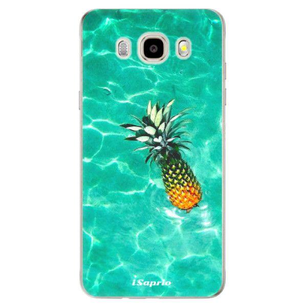 iSaprio Silikonové pouzdro - Pineapple 10 pro Samsung Galaxy J5 (2016)