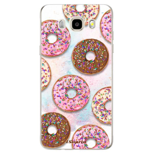iSaprio Silikonové pouzdro - Donuts 11 pro Samsung Galaxy J5 (2016)